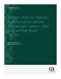 Technologien für die digitale Transformation